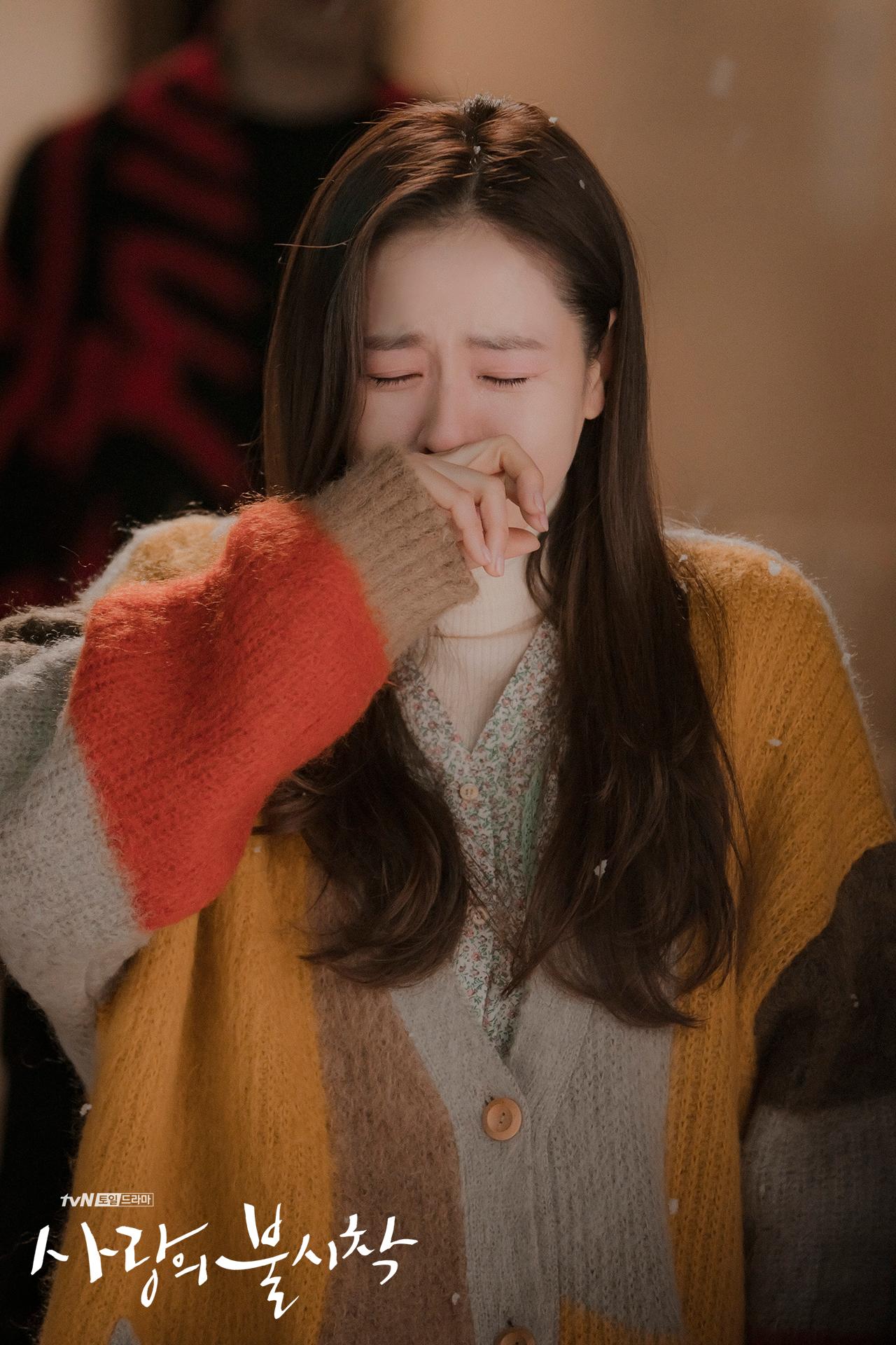 Crash Landing on You Yoon Se-ri crying episode 8