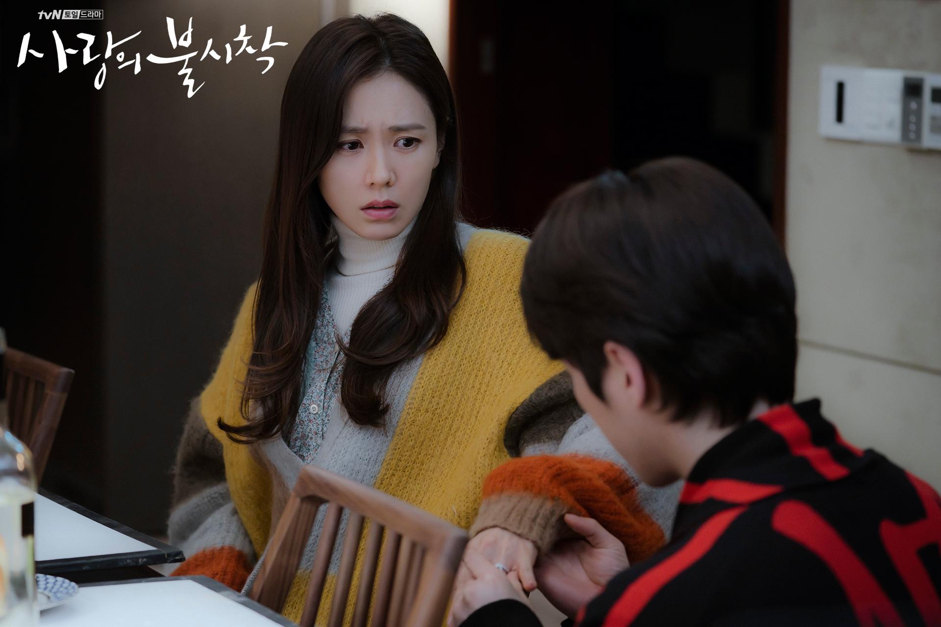 Crash Landing on You Gu Seung-jun proposing to Yoon Se-ri episode 8