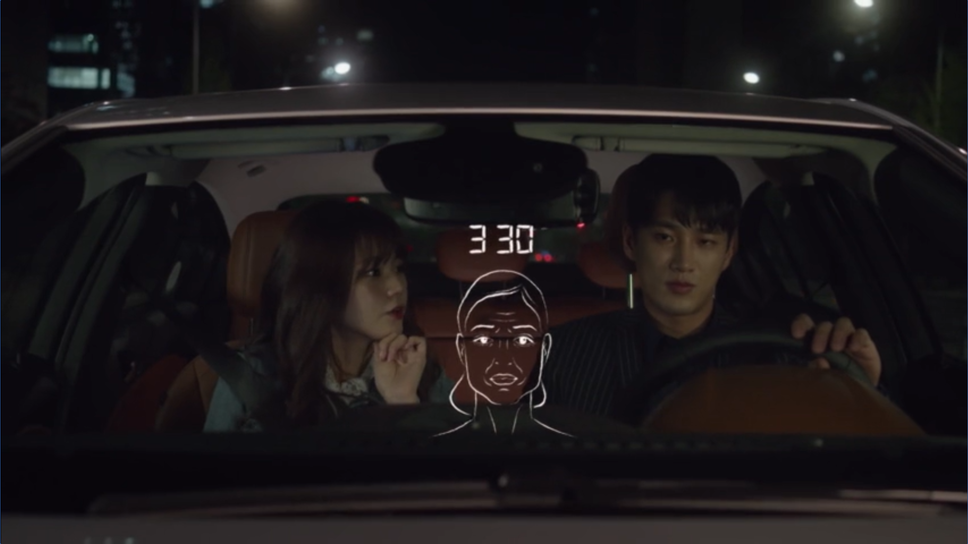 Wednesday 3:30 PM Baek Seung-gyu in the car with new girlfriend