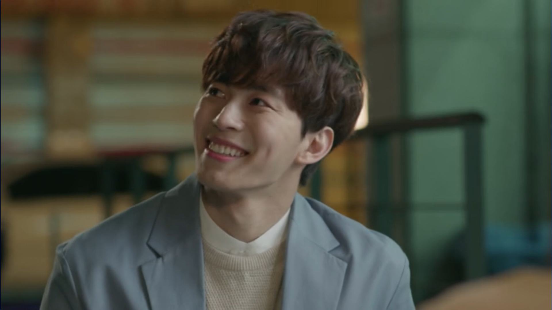 Wednesday 3:30 PM Yoon Jae-won smiling