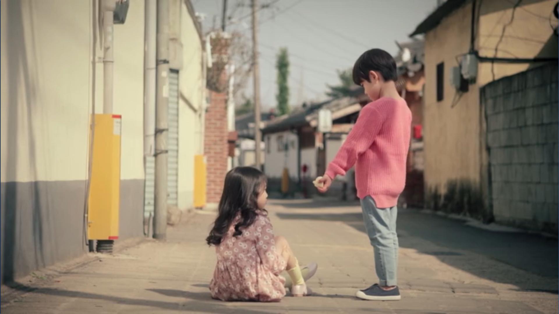 Wednesday 3:30 PM Seon Eun-woo and Yoon Jae-won as kids