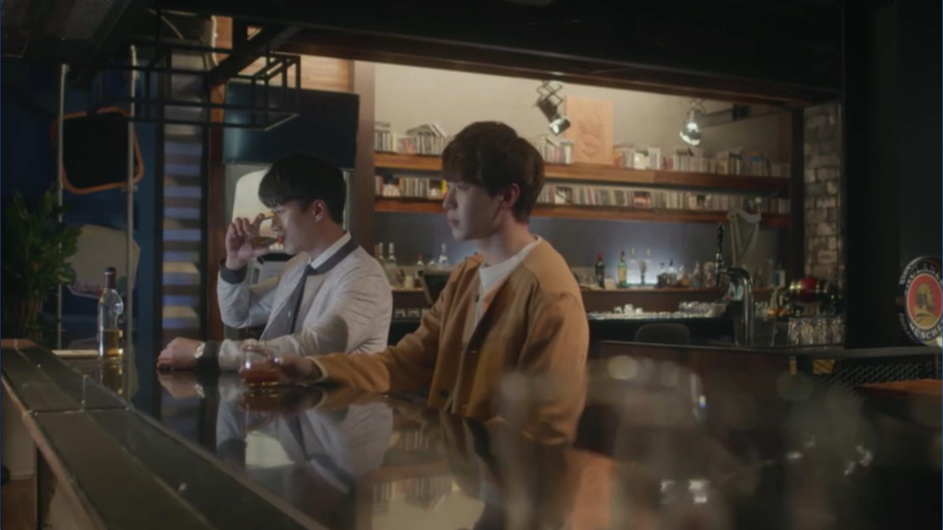 Wednesday 3:30 PM Yoon Jae-won and Baek Seung-gyu talking about Seon Eun-woo