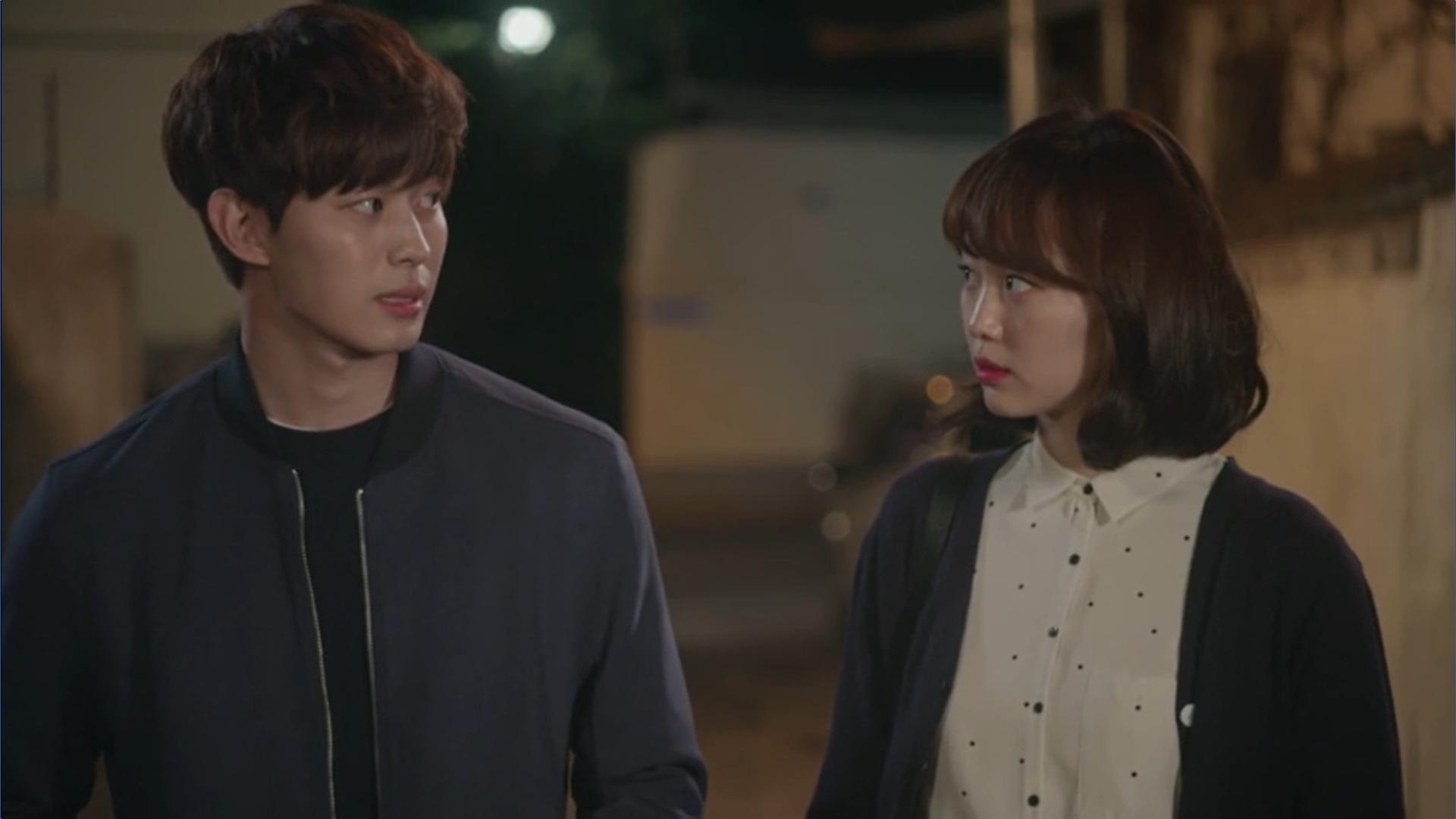 Wednesday 3:30 PM Seon Eun-woo and Yoon Jae-won walking and talking