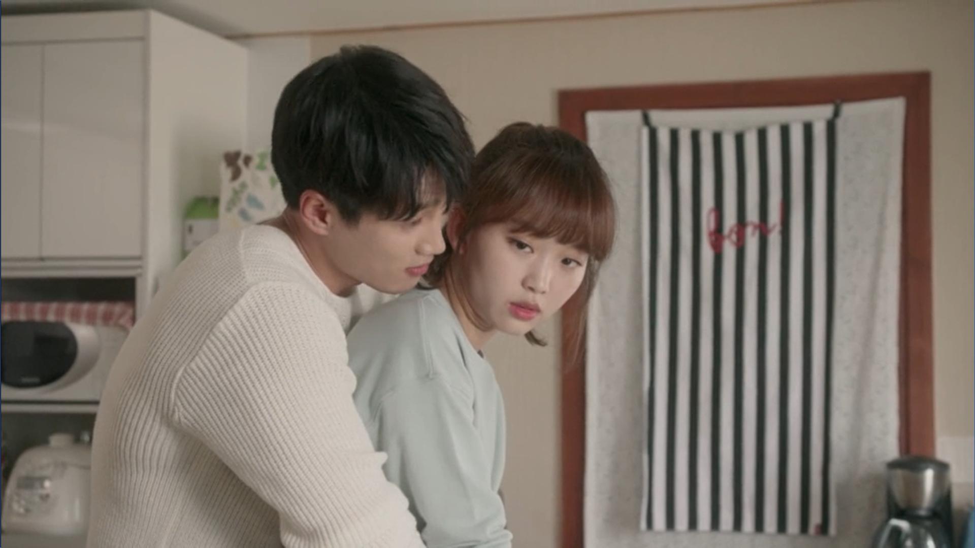 Wednesday 3:30 PM Seon Eun-woo seeing Baek Seung-gyu hugging