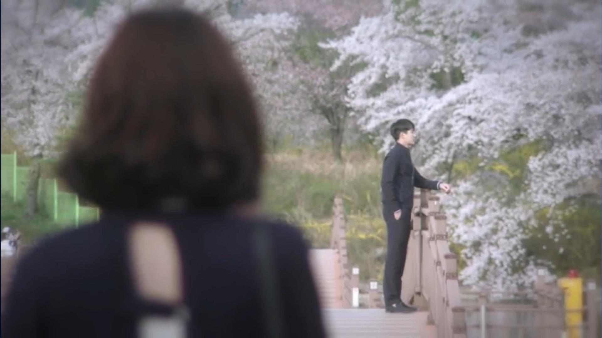 Wednesday 3:30 PM Seon Eun-woo seeing Baek Seung-gyu waiting for her