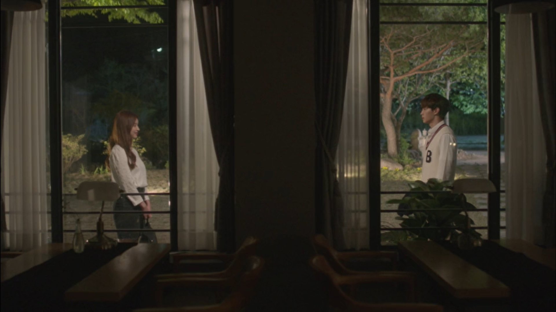 Wednesday 3:30 PM Yoon Jae-won runs into Gong Na-yeon