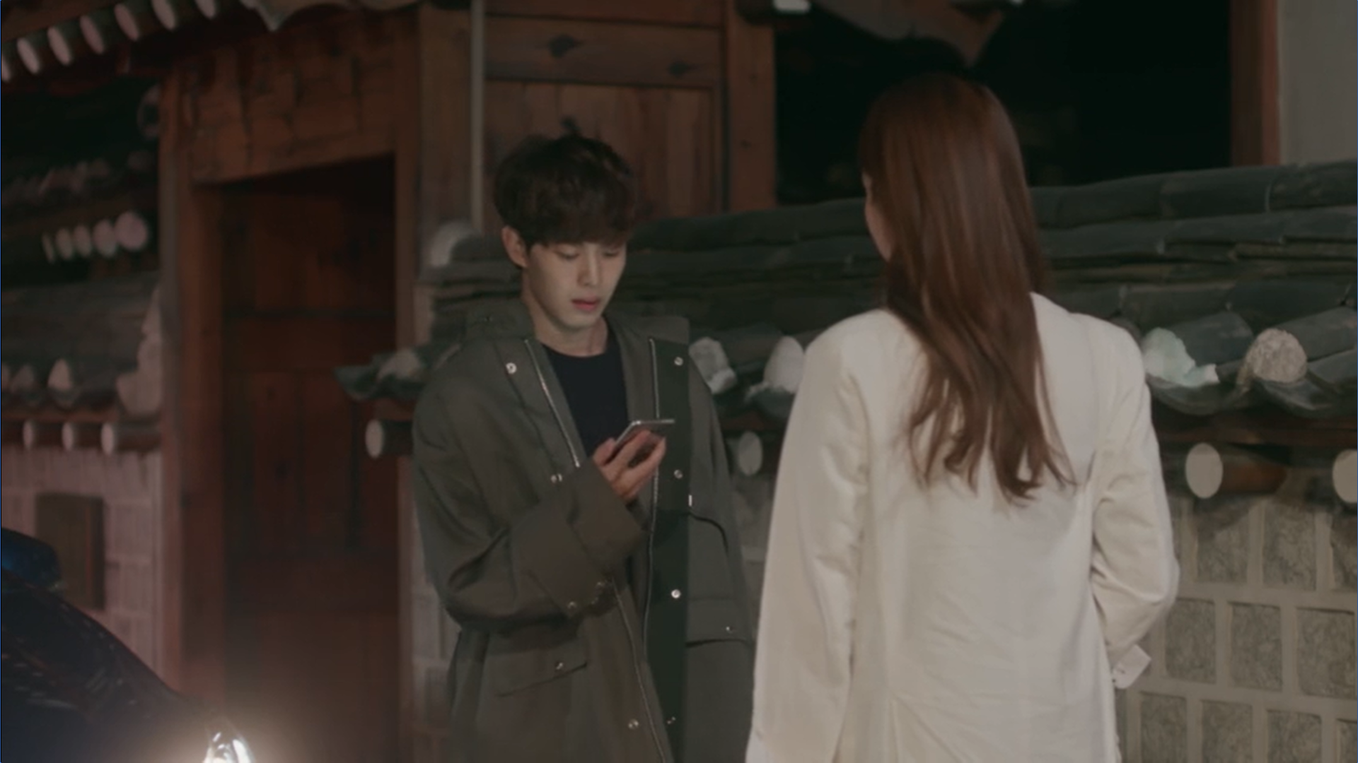 Wednesday 3:30 PM Yoon Jae-won dropping off Gong Na-yeon