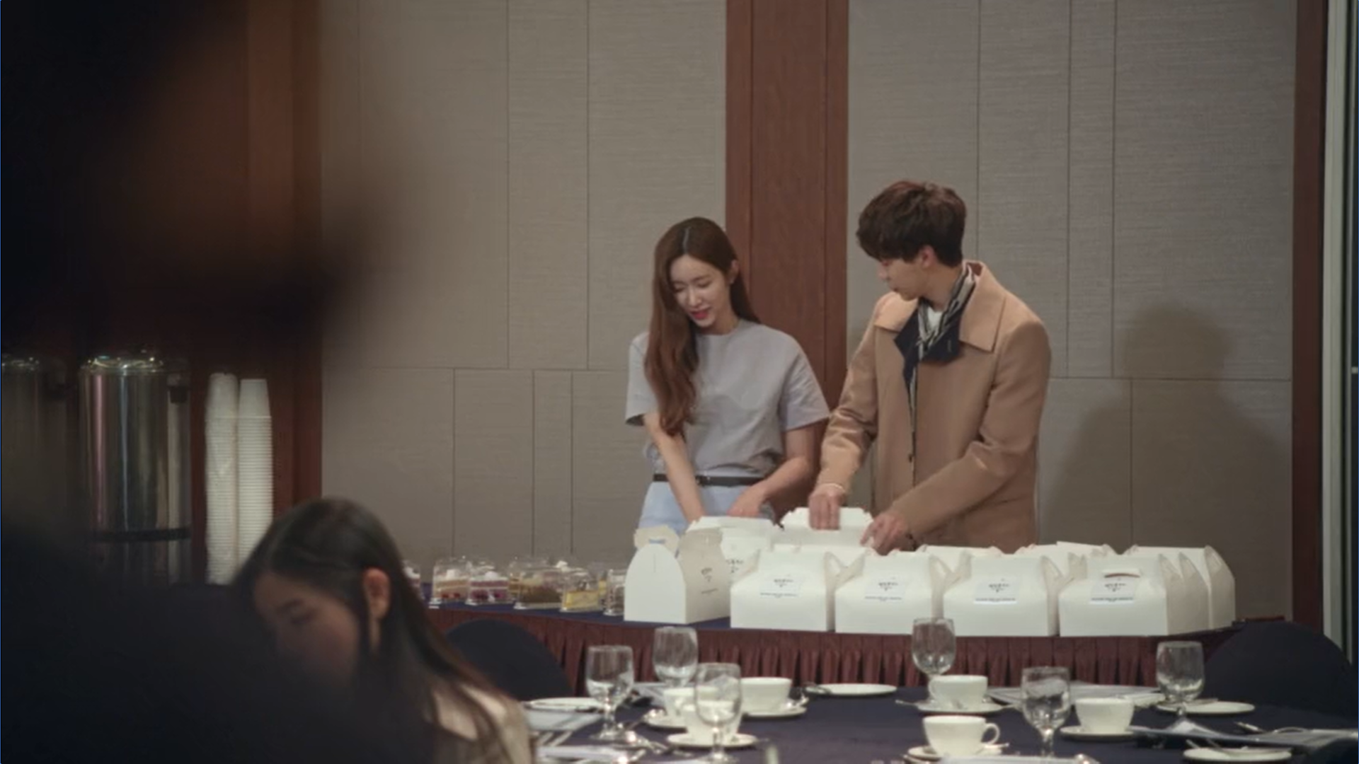 Wednesday 3:30 PM Yoon Jae-won and Gong Na-yeon catering
