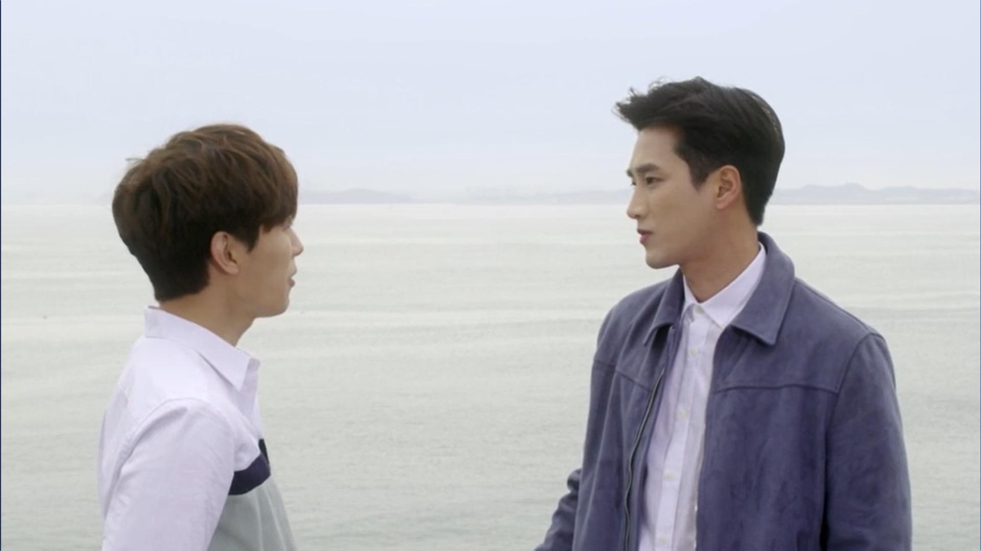 Wednesday 3:30 PM Yoon Jae-won and Baek Seung-gyu talking