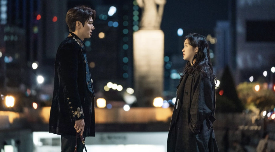The King: Eternal Monarch King Lee Gon meeting Lieutenant Jeong Tae-eul first time