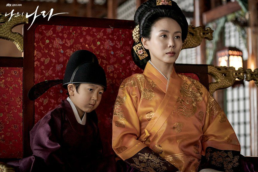 My Country: The New Age Queen Sindeok and son Bang-seok