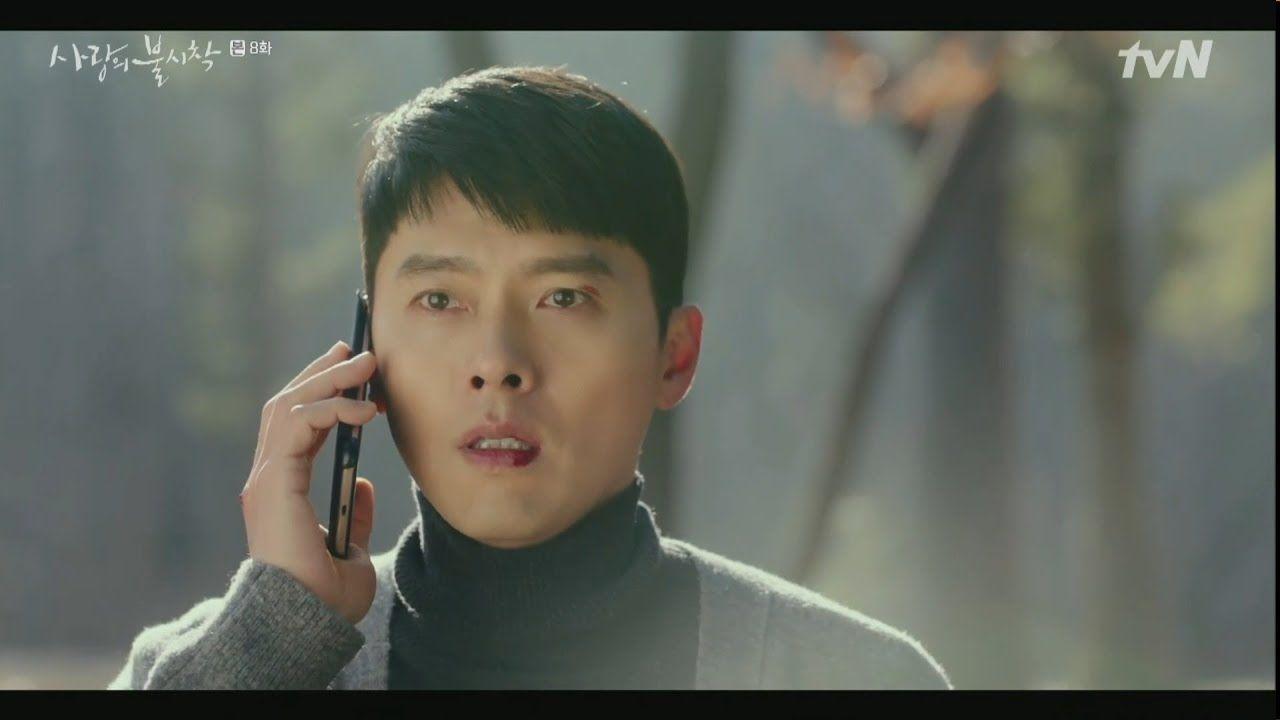 Crash Landing on You Captain Ri Jeong-hyeok on the phone with Yoon Se-ri episode 8