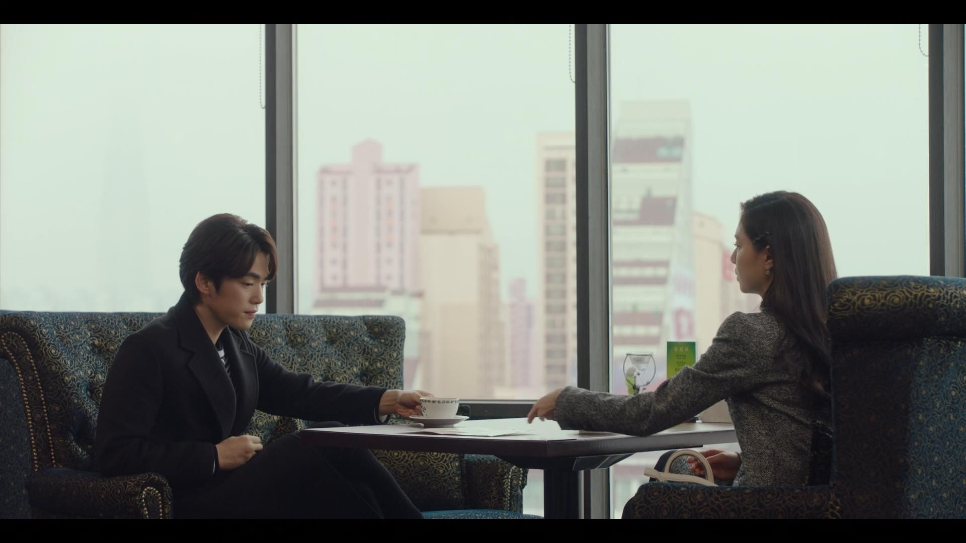 Crash Landing on You Gu Seung-jun and Seo Dan talking episode 8