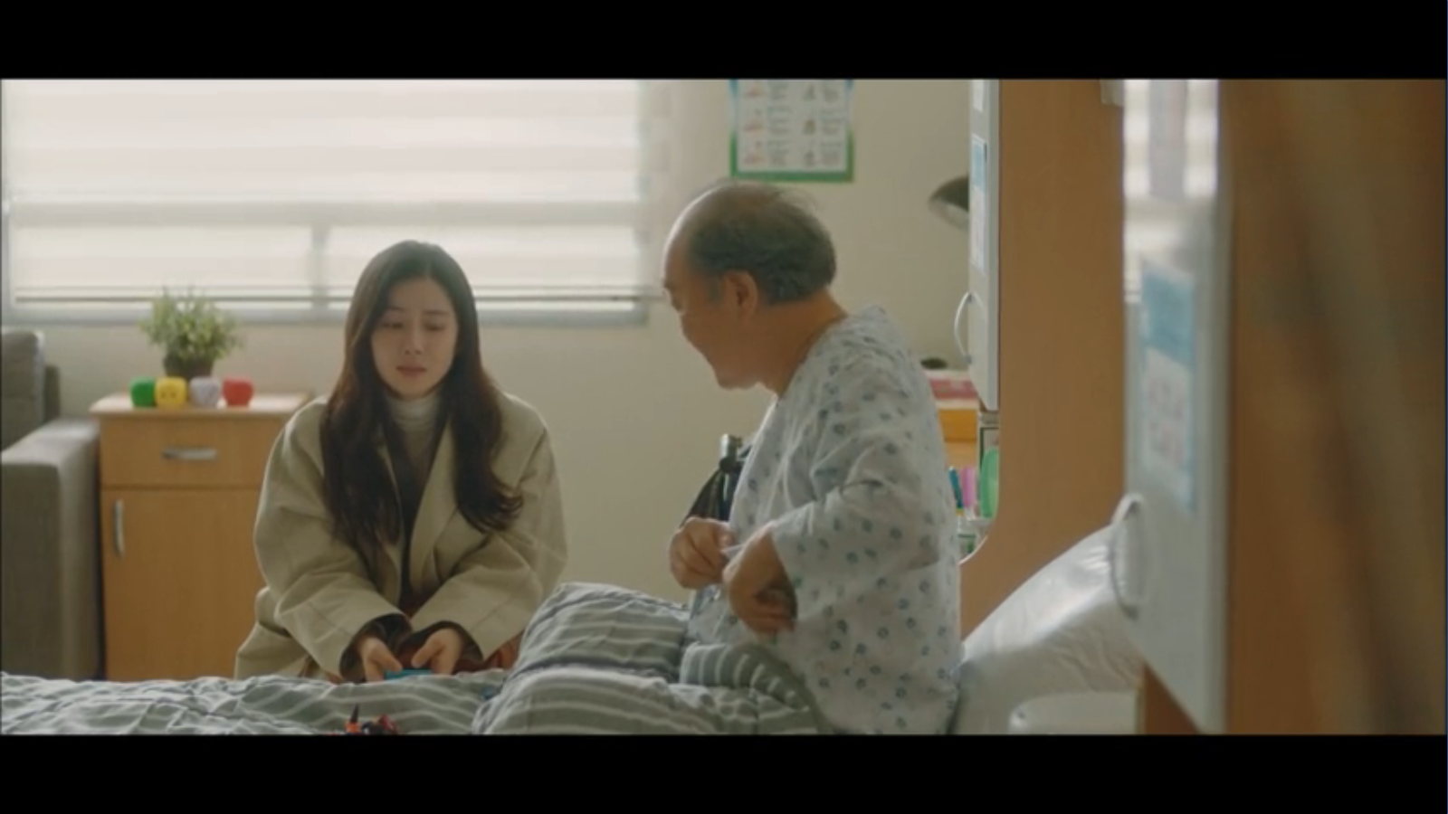 When My Love Blooms Episode 2 Yoon Ji-soo visiting her father