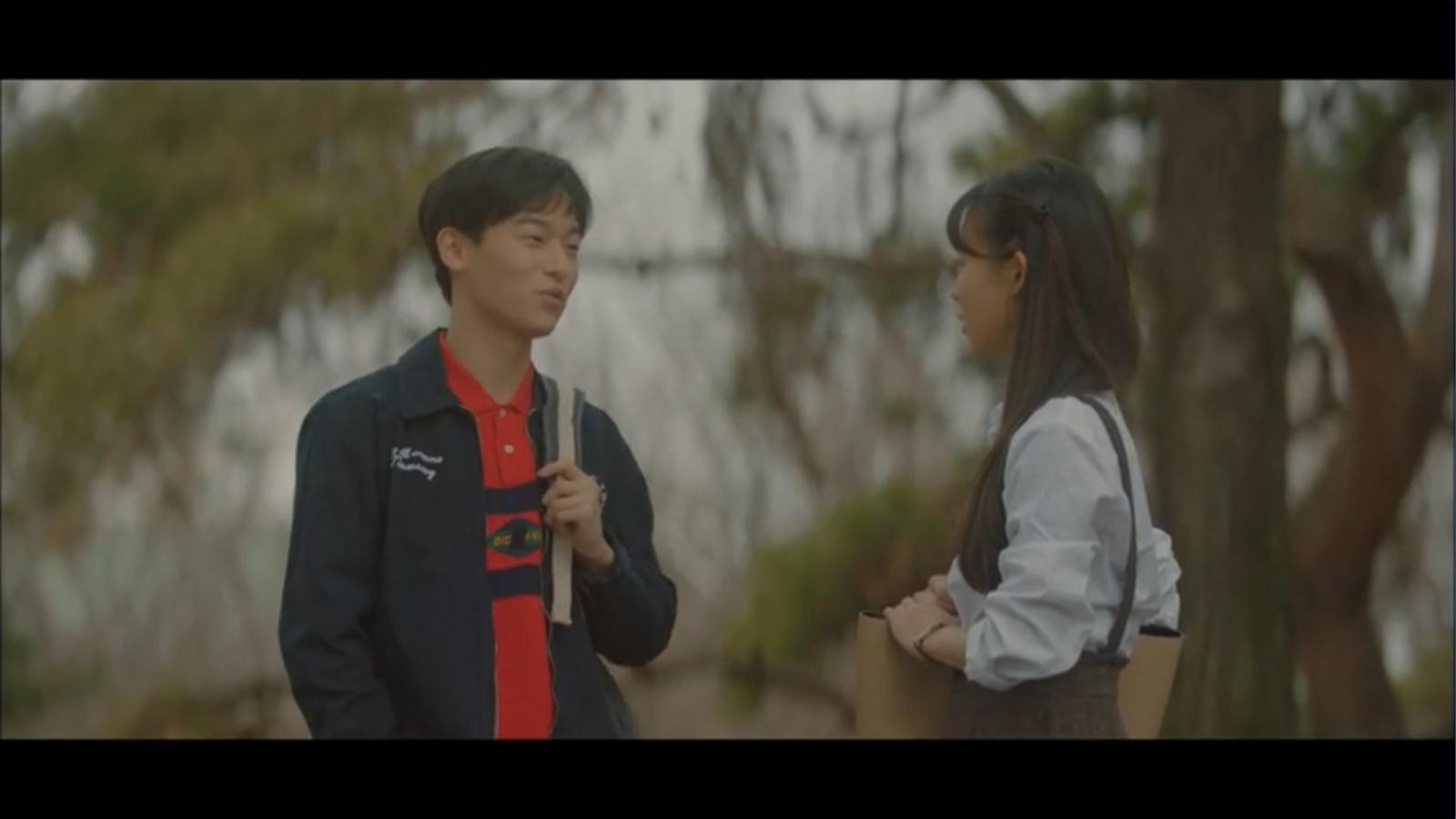 When My Love Blooms Episode 2 Yoon Ji-soo and Joo Young-woo talking
